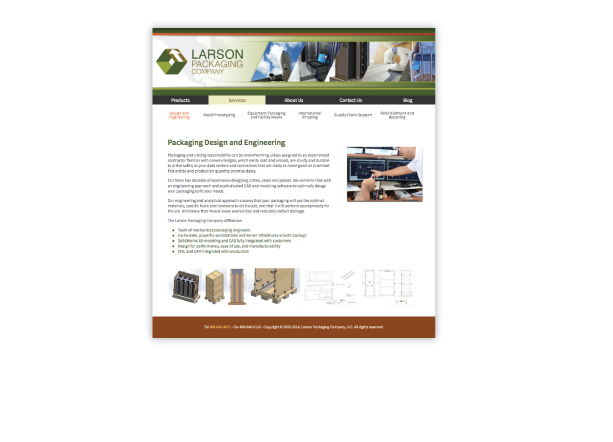 Larson Packaging Product Overview